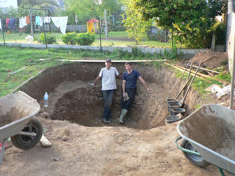 Bassin de jardin 29 voir le sujet le bassin de jardin de ccante - Comment creuser un bassin ...
